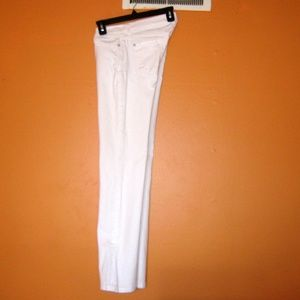7 For All Mankind Jeans - 7FAM Skinny Bootcut Size 26 White Jeans